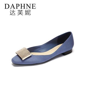 Daphne/达芙妮低跟平底鞋1017101820