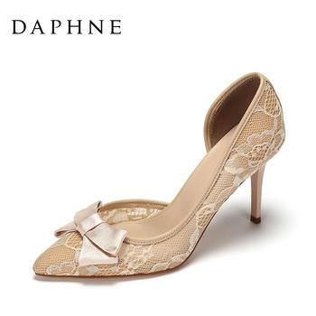 Daphne/达芙妮细跟高跟鞋1017102006