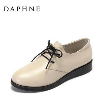 Daphne/达芙妮系带平底女鞋1017101135