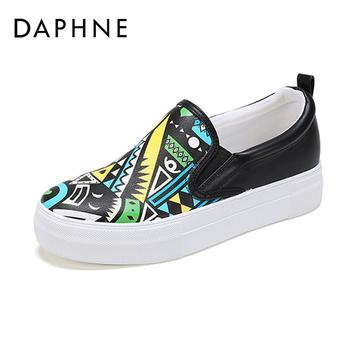 Daphne/达芙妮厚底休闲鞋1017101040
