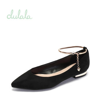 Daphne/达芙妮低跟浅口单鞋1717101011
