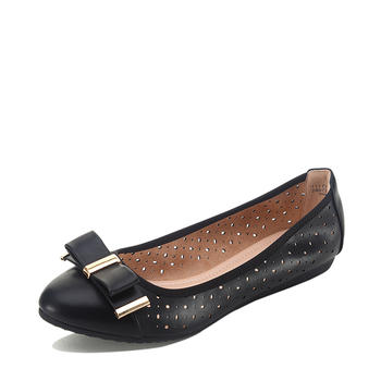 达芙妮旗下单鞋镂空女鞋1117101203