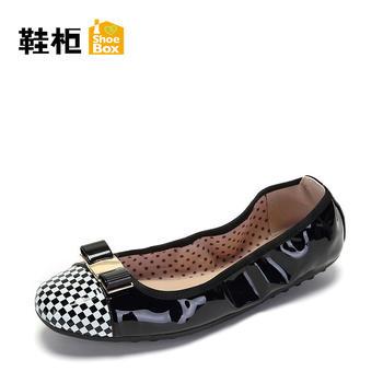 达芙妮旗下鞋柜春单鞋1117101217