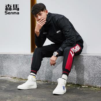 森马高帮2019春季休闲鞋嘻哈男鞋