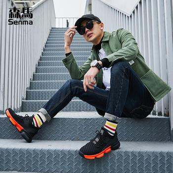 森马运动鞋春季男休闲韩版跑步鞋