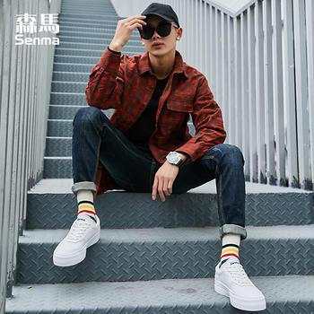 森马男2019春季新款休闲板鞋