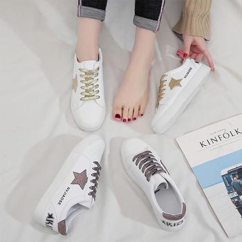 Tatyana平?#36164;?#36866;系带鞋时尚星星鞋