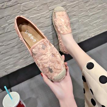 慕沫女鞋2019新款平底乐福鞋单鞋