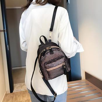 雅涵2019新款双肩背包女单肩包包女时尚休闲小背包