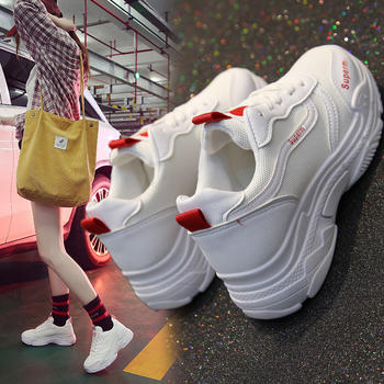 CONGC新款韩版老爹ulzzang百搭运动鞋跑步春季超火运动鞋