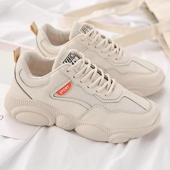 承发 低帮小熊鞋小白鞋女春季熊猫鞋新款韩版