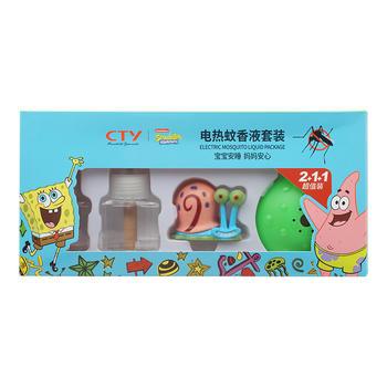 海绵宝宝 电热蚊香液套装(1+1+2)