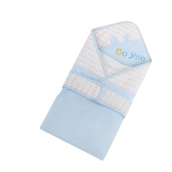 欧孕新生儿抱被春秋纯棉薄款抱毯宝宝襁褓包巾
