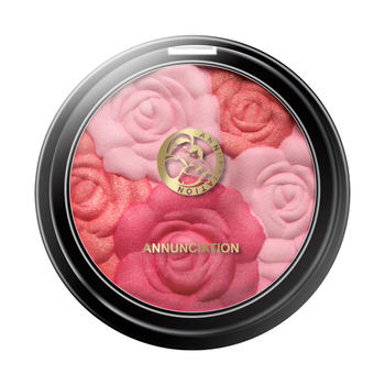 十月天使 孕妇可用的彩妆玫瑰之吻浮雕花瓣腮红8.5g