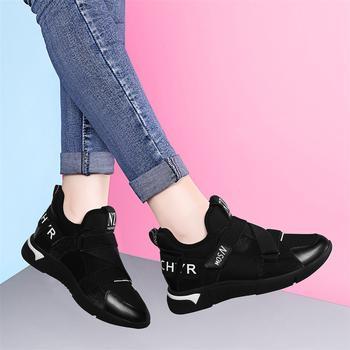 休闲百搭春季新款韩版平底运动鞋