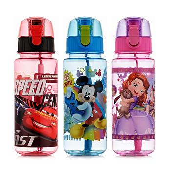 迪士尼直饮提绳儿童耐摔大容量水壶530ml