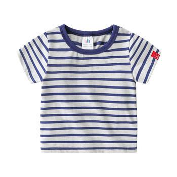 貝殼元素夏季男童圓領短袖上衣txa253
