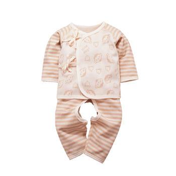 谷斐尔纯棉新生儿内衣套装和尚服上衣裤子宝宝囤货