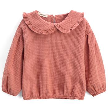 猪猪的故事女童春装长袖t恤童装洋气上衣宝宝上衣儿