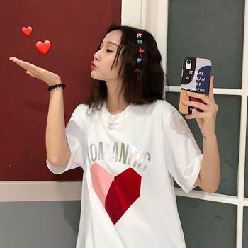 露雪棉新款韩版网红短袖女t恤宽松超火cec原宿T