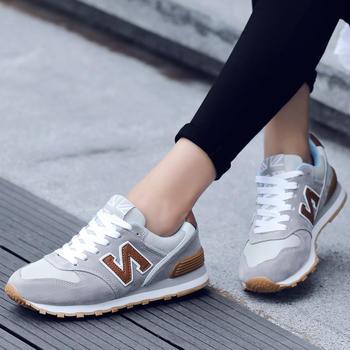New Barlun纽巴伦春季男女运动鞋N字总统慢跑鞋耐磨防滑