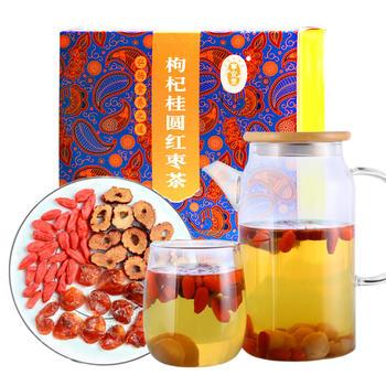 宁安堡枸杞桂圆红枣茶桂圆干花茶组合八宝茶300g