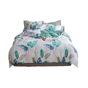 明瑟mingse舒适全棉床单款四件套多色可选