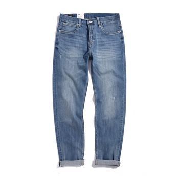 Lee 2019年新款牛仔裤修身直角经典水洗薄L147311VJ23J