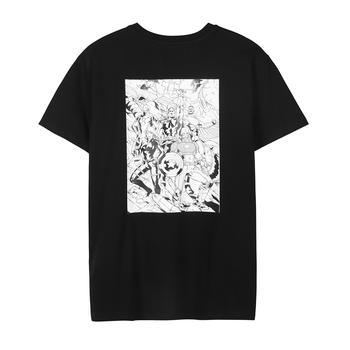 Lee 夏季新款男士漫威系列短袖T恤L327183RXK11