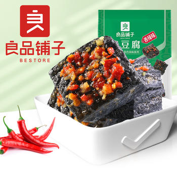 良品铺子臭豆腐120g香辣味休闲零食 好零食 挑良品