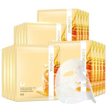 透真蜂蜜玻尿酸面膜20片补水保湿营养滋润修护