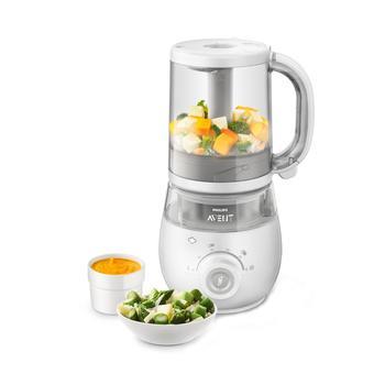 飞利浦新安怡4合1婴儿辅食机食品蒸制搅拌料理机