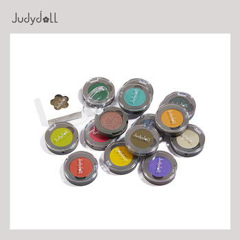Judydoll橘朵单色眼影偏光亮闪片哑光珠光大地