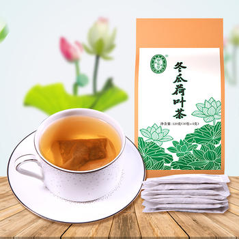 荷叶茶冬瓜荷叶茶叶重瓣红玫瑰决明子山楂组合茶