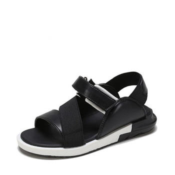 鞋柜男童夏季舒适时尚魔术贴沙滩凉鞋