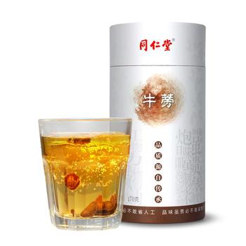 北京同仁堂牛蒡茶 喝出好精力 畅快无负担