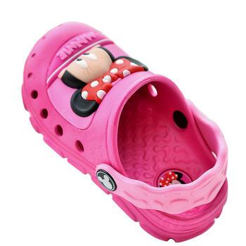 迪士尼防滑洞洞鞋亮灯款