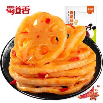 蜀道香 香辣藕片120g  鲜辣一绝,佳'藕'天成