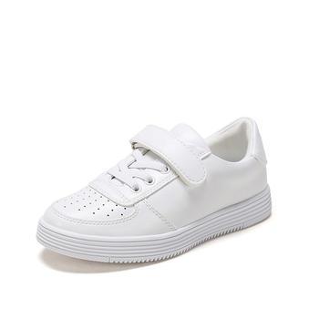 鞋柜春款休闲中大童板鞋 学生小白鞋