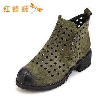 红蜻蜓新款韩版时尚百搭透气单鞋女B87195