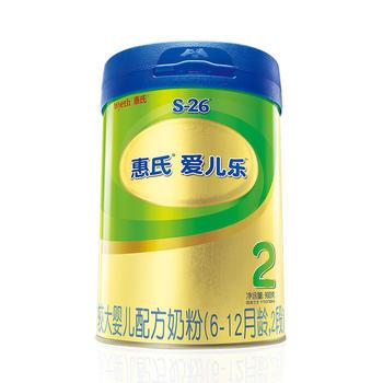 惠氏S-26金装2段爱儿乐较大婴儿配方奶粉 6-12月龄