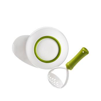 NUK婴儿防滑食物研磨碗宝宝辅食餐具研磨器