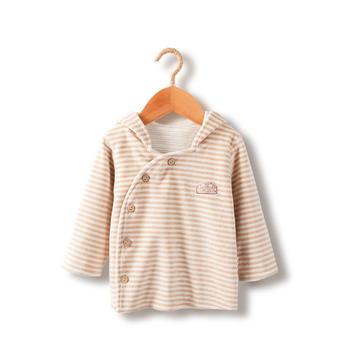 谷斐尔男女儿童0-3岁宝宝外套上衣天鹅绒棉上衣外出服