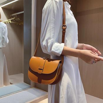雅诗罗韩版简约单肩女包斜挎包包时尚百搭小包