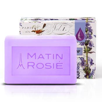 Matin Rosie/玛汀露丝手工皂薰衣草精油洁面洗澡皂90G舒缓