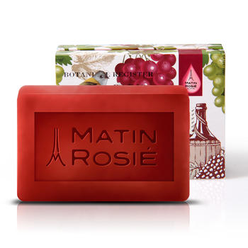 Matin Rosie/玛汀露丝手工皂法国红酒精油洁面洗澡90G嫩肤