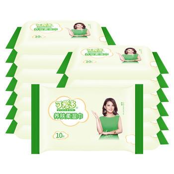 可爱多婴儿柔手口湿巾10抽*15包抽纸
