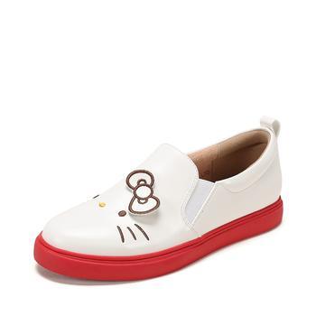 SHOEBOX/鞋柜懒人鞋印花平底单鞋1118404408