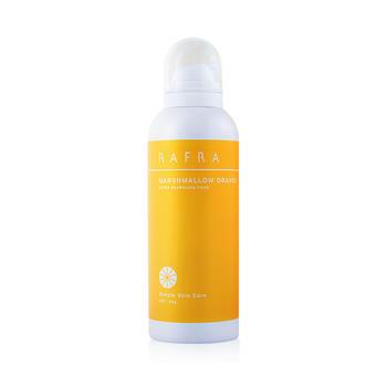 RAFRA香橙碳酸洁面慕斯150g 氨基酸洗面奶温和清洁