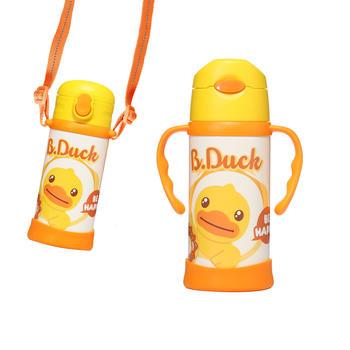 B.DUCK小黄鸭儿童一杯四用保温杯400ml